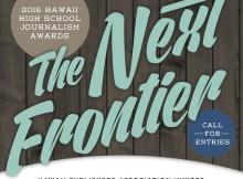 2016 Hawaii High School Journalism Awards